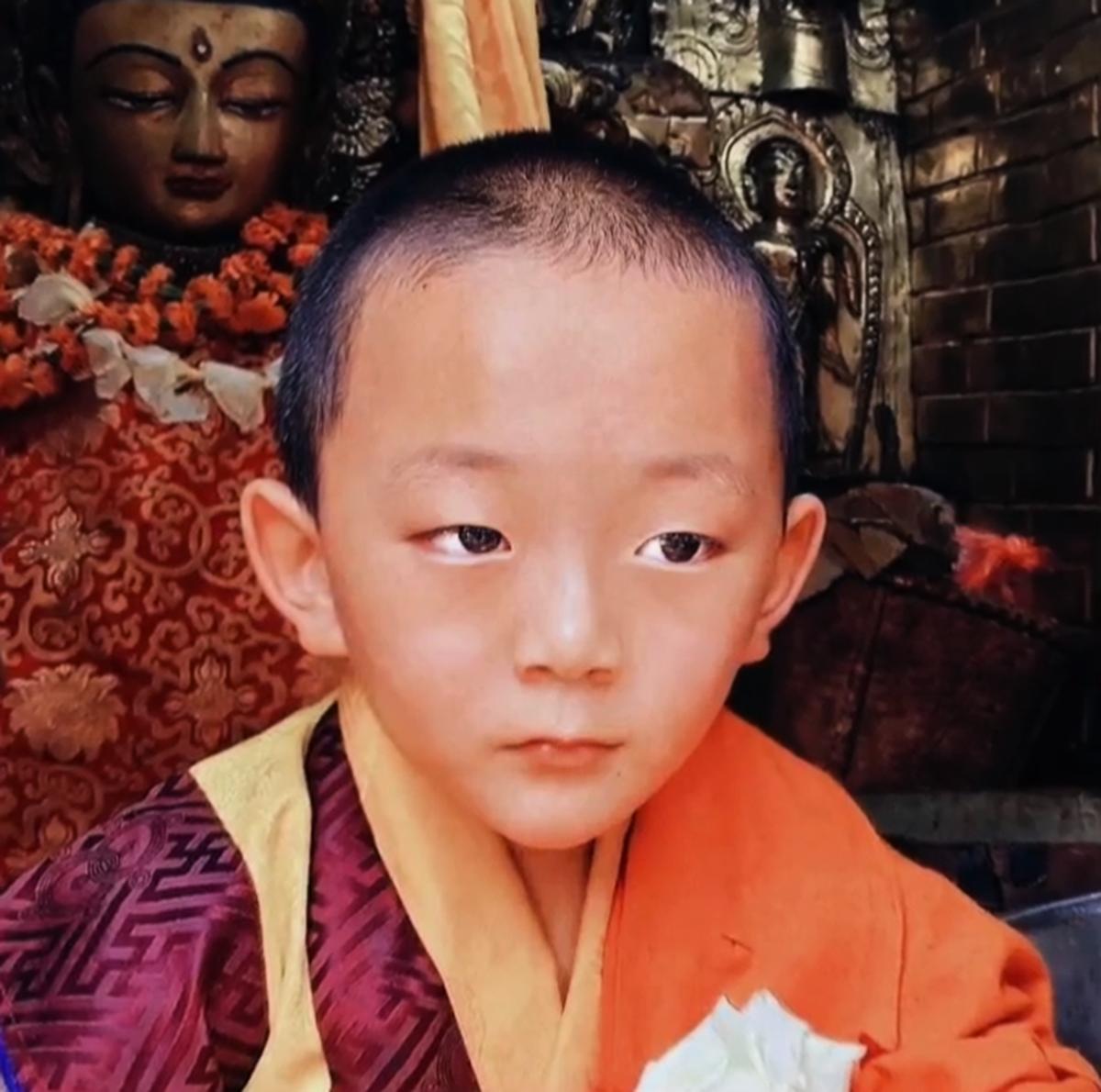 不丹小王子毗盧遮那。(未解之謎影片截圖)