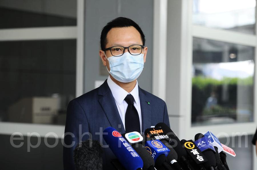 郭榮鏗獲佐治城大學委任傑出學人 校方讚其推動香港司法獨立