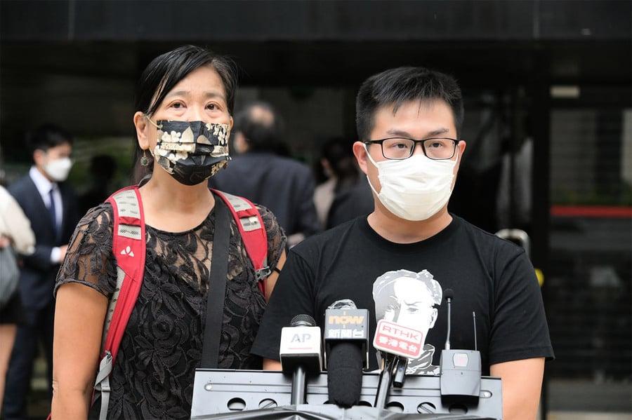 前年九龍區遊行案七被告認罪