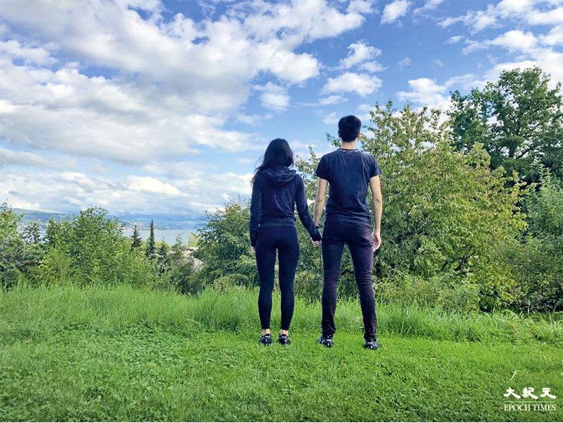 90後夫婦暫居瑞士:心在香港 但已無法回頭