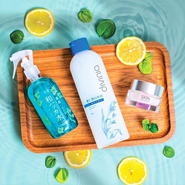 夏季炎熱  涼感保養法能安撫肌膚