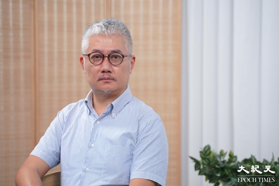香港浸會大學政治及國際關係學系前助理教授、香港文化研究及政治學獨立學者黃偉國,8月19日晚在網台節目中表示,他已經離開香港到英國定居。資料圖片。(關永真/大紀元)