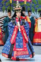 南韓傳統文化節韓服華麗登場