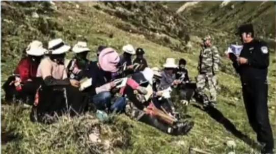阿壩19歲藏族青年拒絕參加中共思想教育被捕