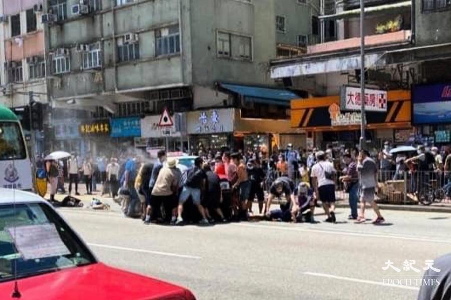 廣福道兩死八傷奪命車禍 4歲男童劉殷喆已完全蘇醒