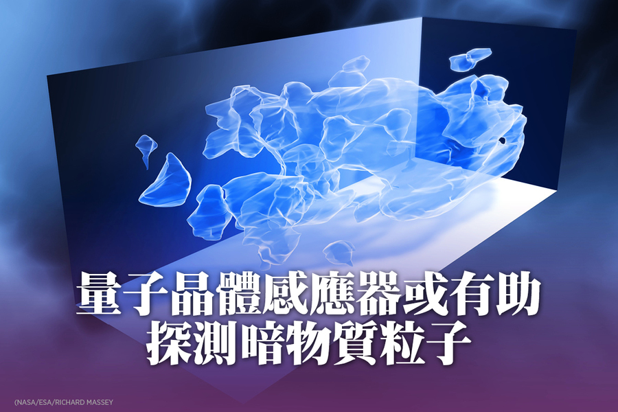 量子晶體感應器或有助探測暗物質粒子