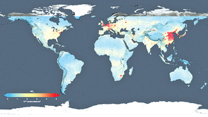 大陸空污多嚴重NASA衛星圖讓你知