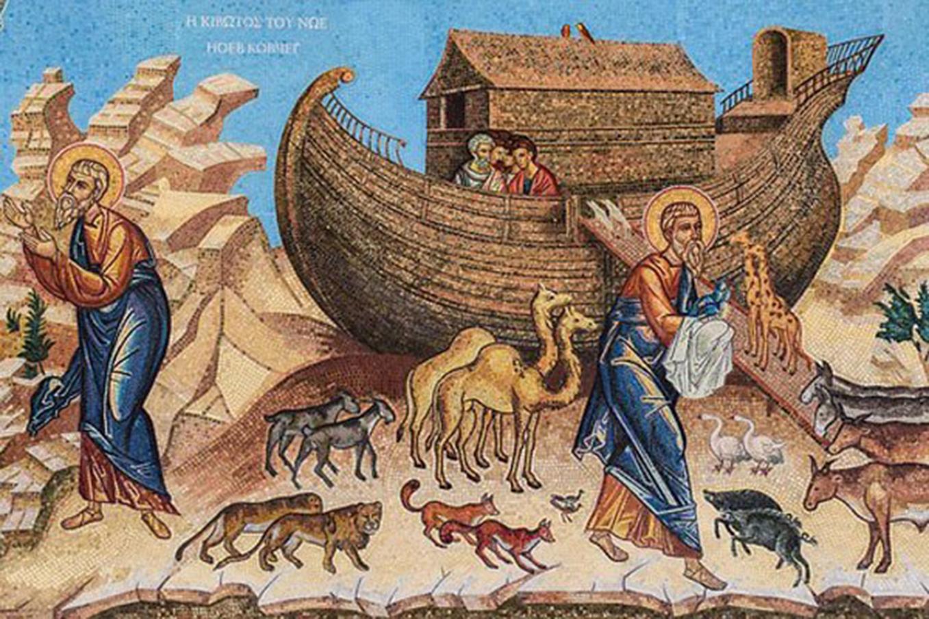 在全世界諸多民族都有關於大洪水毀滅文明的傳說。(pixabay)