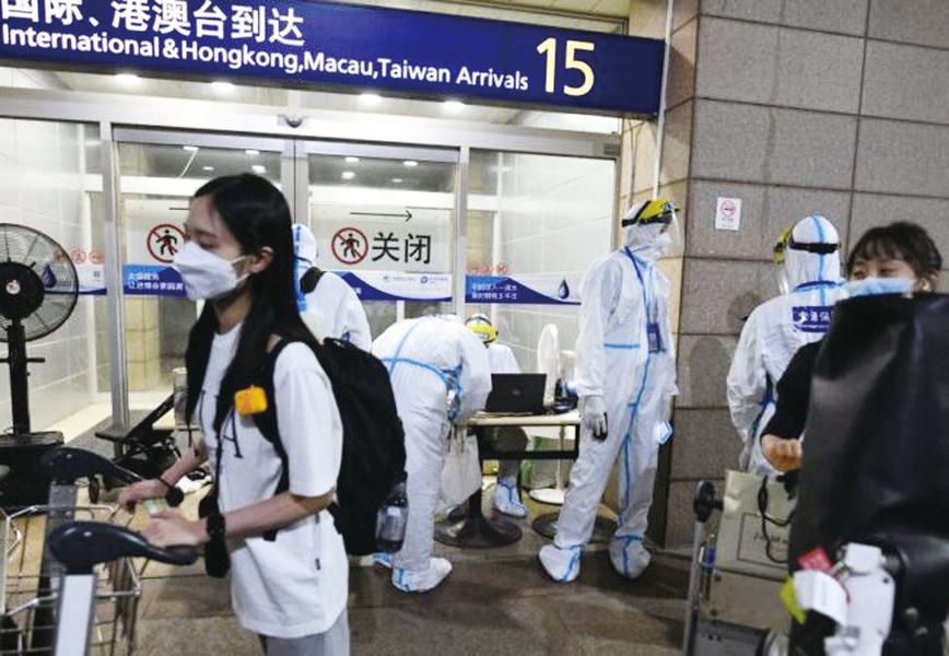 上海疫情升溫 五地列風險區