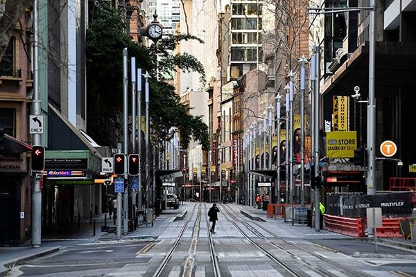 澳洲智庫:疫情封鎖 小企業工作職位流失慘重