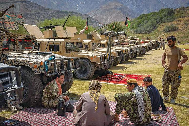 塔利班與阿富汗爆衝突 各說各話