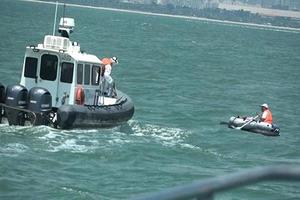 中國男子划橡皮艇 偷渡台灣金門