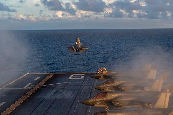 英美聯合軍演 美軍建F-35C分隊瞄準中共