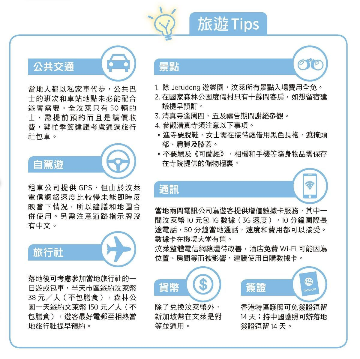 旅游Tips(大紀元資料圖片)