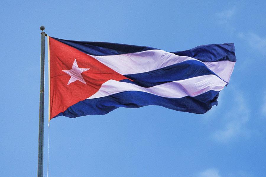 圖為古巴國旗。(Pixabay)