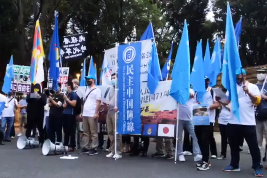 消息:香港民主中國陣線負責人黃元璋被查 或違國安