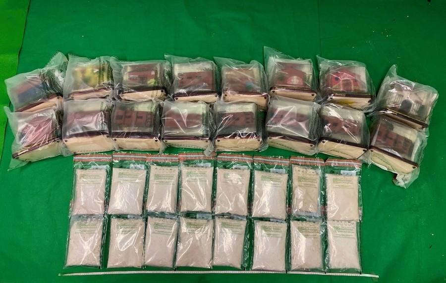 香港海關檢獲約930萬元懷疑可卡因