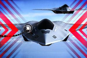 【時事軍事】美軍注資先進裝備 第六代戰機揭祕