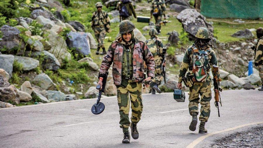 中印邊境對峙未緩解 印度向俄緊急採購突擊步槍