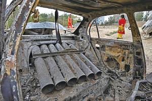 火箭彈襲喀布爾機場  美軍反導彈防禦系統成功攔截