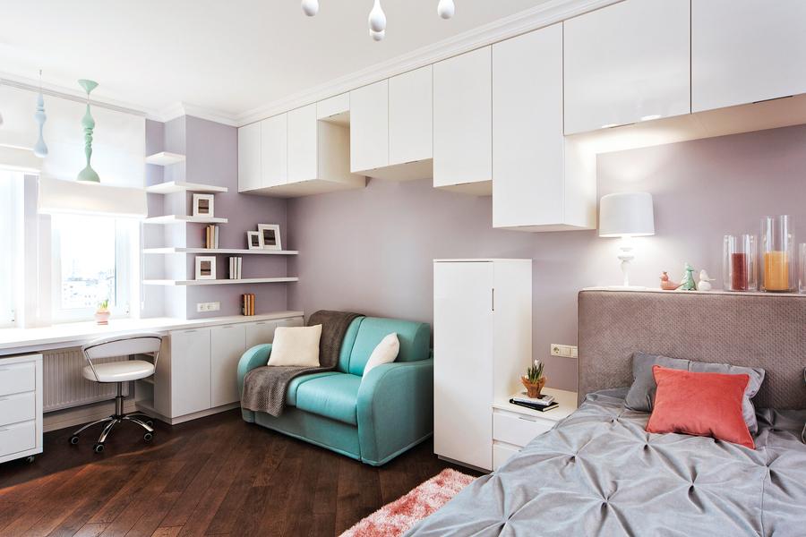 臥室太小不用怕  巧用方法放大空間
