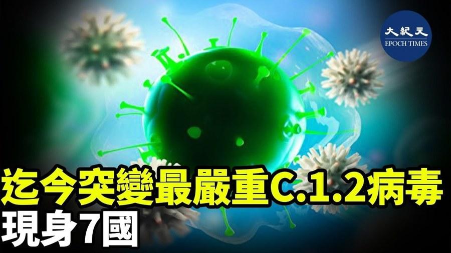 迄今突變最嚴重 C.1.2病毒 現身7國