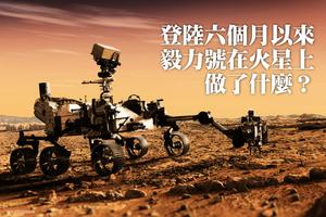 登陸六個月以來 毅力號在火星上做了什麼?