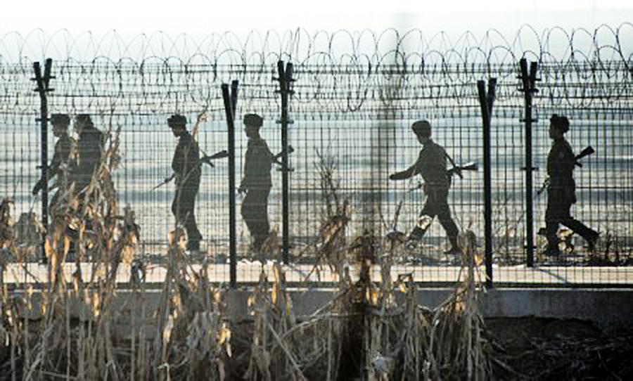 北韓再現士兵越界投奔南韓事件