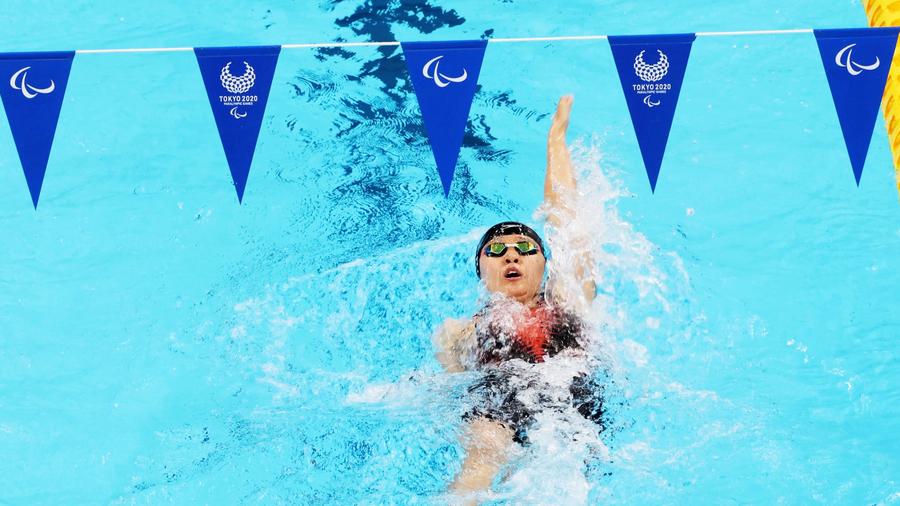 東京殘奧|泳手陳睿琳晉身女子S14級100米背泳決賽