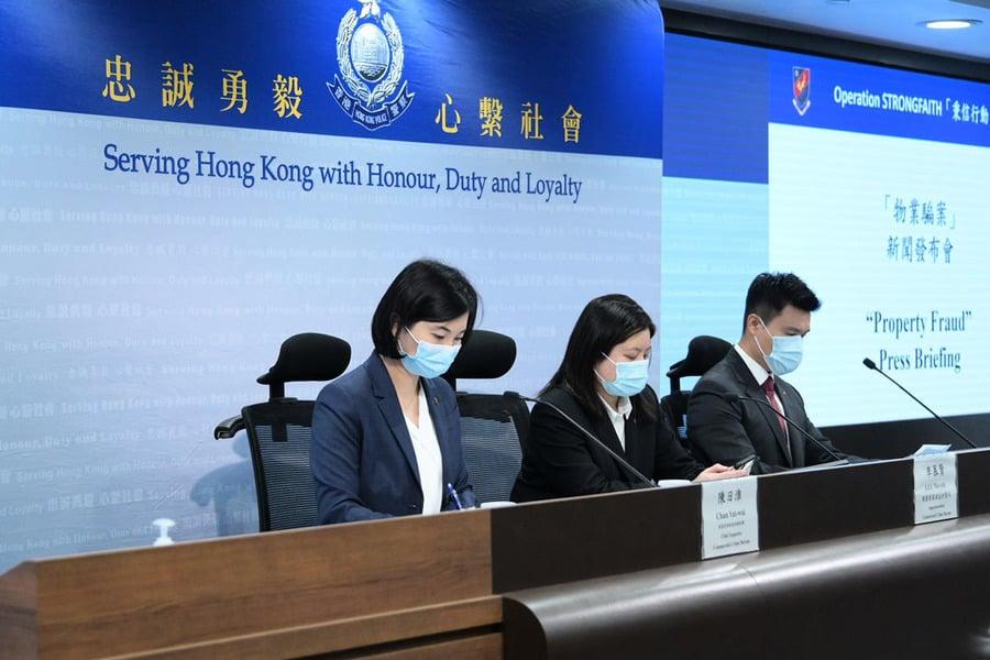 警方搗破跨專業界別物業騙案 拘捕多名法律人士涉款逾六千萬