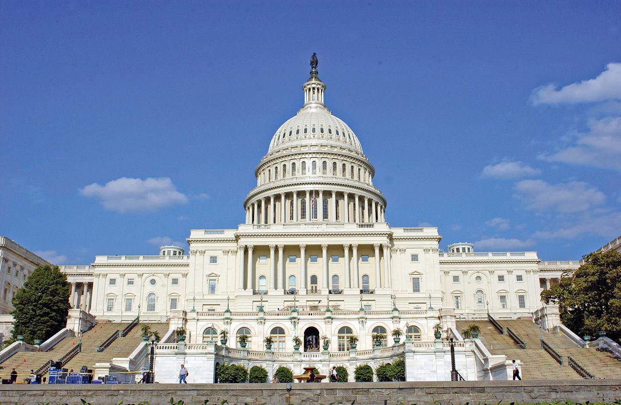 圖為美國國會大樓。(Getty Images)