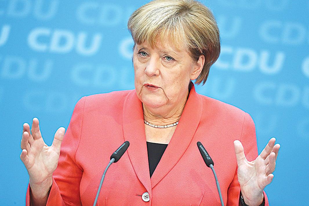 德國總理默克爾。(Getty Images)