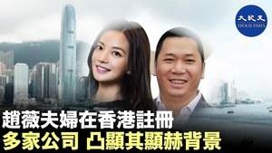 【焦點速遞】趙薇夫婦在香港注冊多家公司 凸顯其顯赫背景