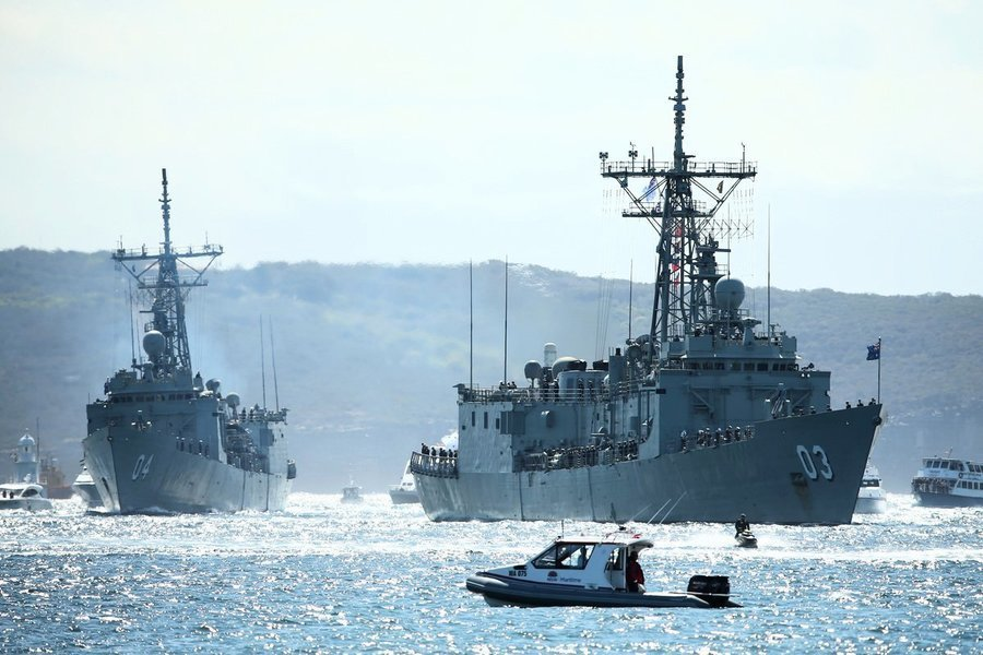 澳軍艦拒遵守中共新規 美堅持對抗非法海權主張