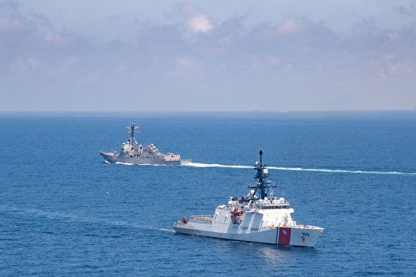 亞太安全對話聚焦台海 美海警艦穿航台灣海峽
