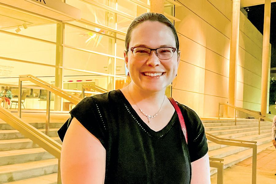 達拉斯老兵醫療中心的生物醫學總工程師Clarice M.L. Holden。(李辰/大紀元)