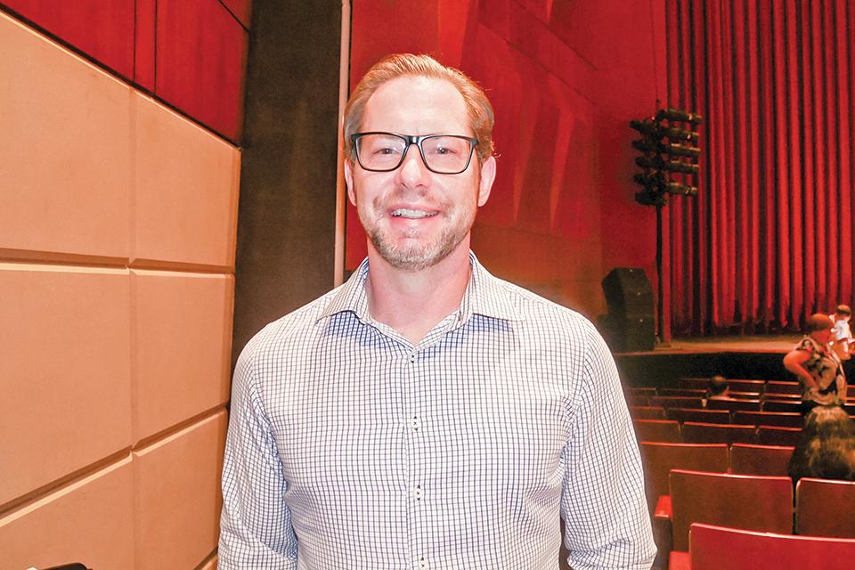 ForwardXP軟件公司行政總裁Steve Nix。(李辰/大紀元)