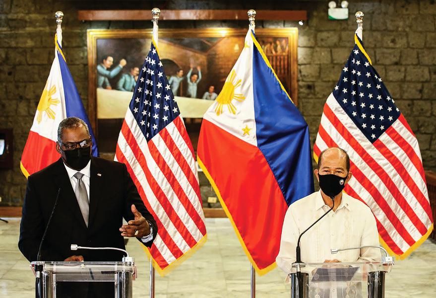 拋棄中共 菲律賓也站隊了
