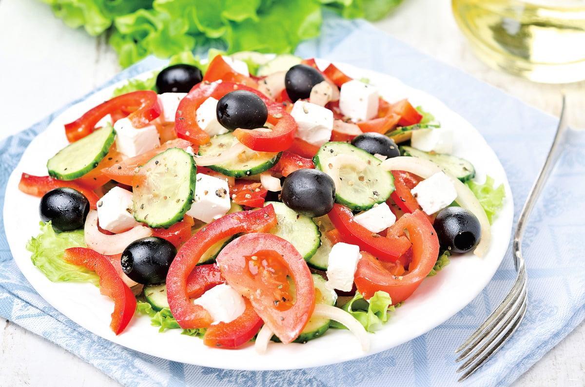 希臘飲食習慣以蔬菜為主菜。
