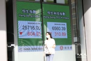 恒指跌604點創六周最大跌幅 傳北京停止網遊審批