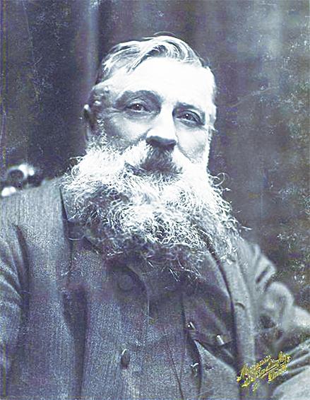 奧古斯特.羅丹 (Auguste Rodin François-Auguste-René Rodin) 1840~1917年,法國(整版圖片來源/ Fotolia、維基百科)