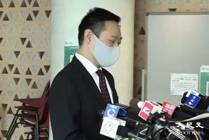 首批區議員宣誓  東區蔡志強:絕不能委曲求全