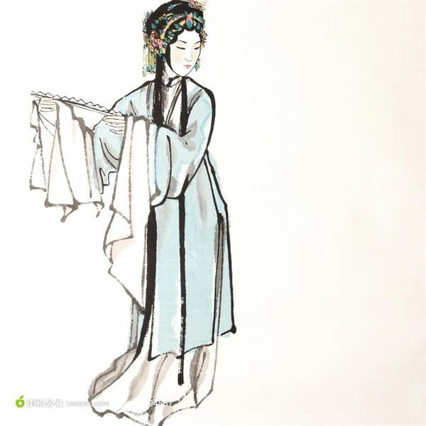 為甚麼稱女子為青衣?