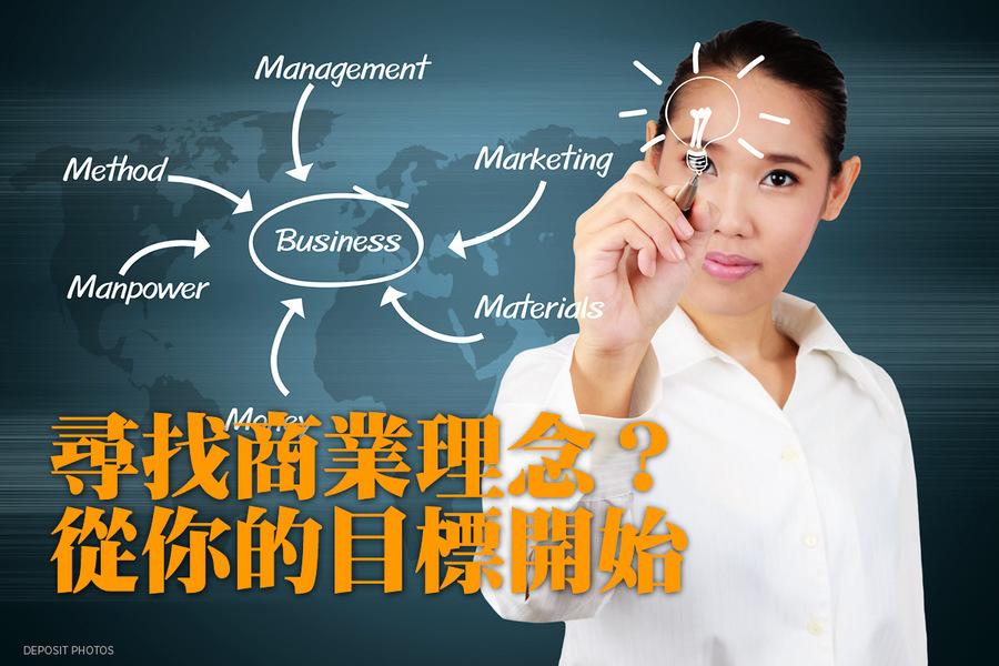 尋找商業理念?從你的目標開始