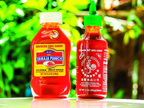 喜歡吃辣的人,可在醬汁中加入是拉差辣醬。