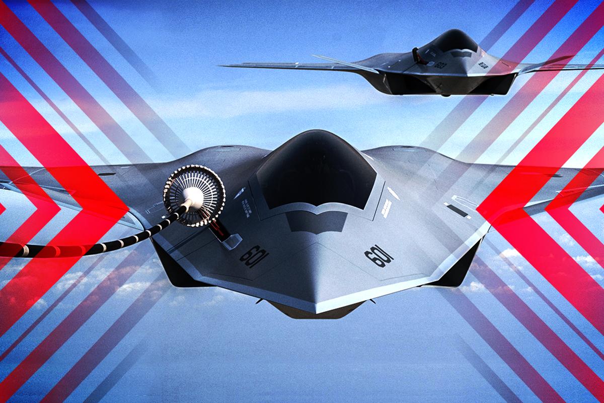 中共仍在追趕的美軍現役最先進戰鬥機即將被下一代空中優勢戰鬥機替代。(大紀元製圖)