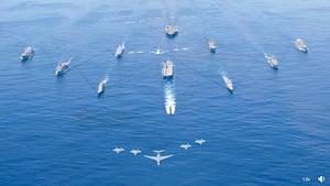 西太平洋最大規模的軍事集結