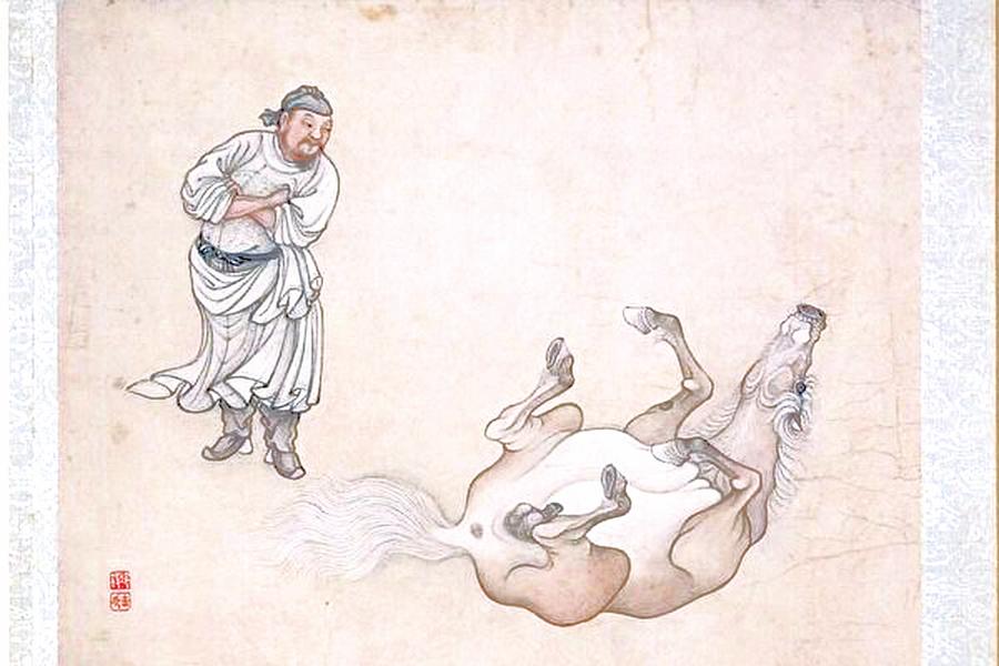 清朝大學士神奇的相馬術 聽蹄聲知顏色