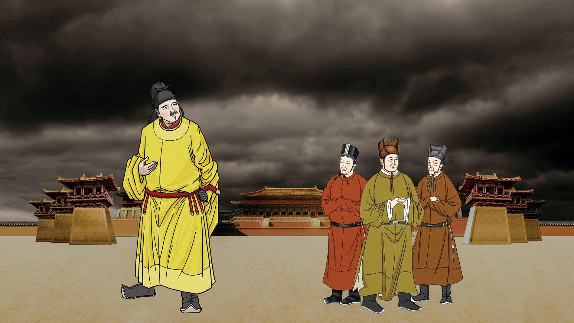 唐文宗欲誅宦官,釀「甘露之變」,宦官勢力得勝,殺死朝廷1600個官員。