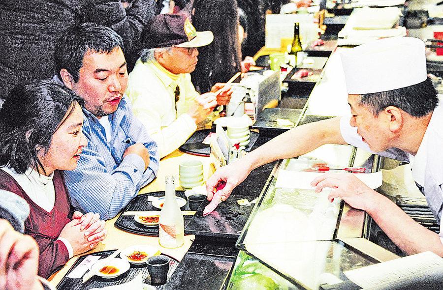 中國移民為何愛開壽司店?